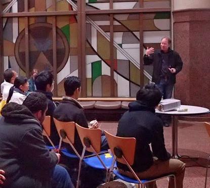 Public Talk in Hokkaido University