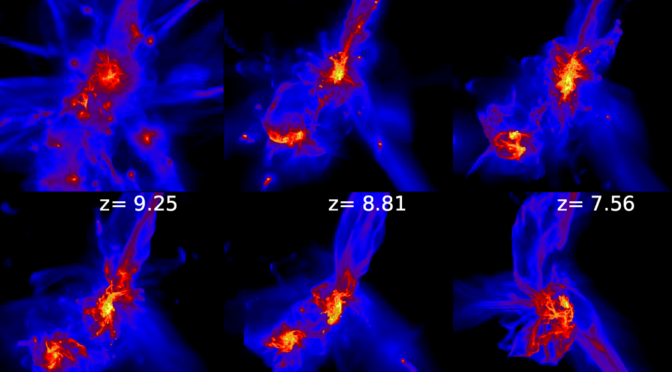 New Paper: Early massive black hole growth